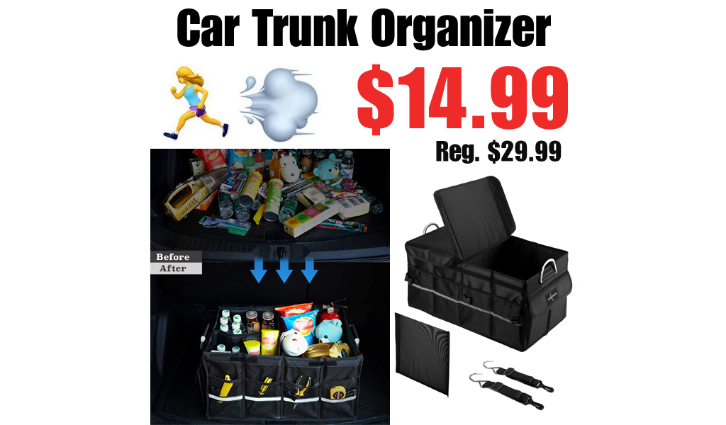 Car Trunk Organizer Only $14.99 Shipped on Amazon (Regularly $29.99)