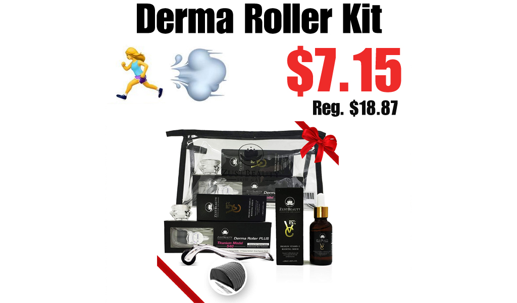 Derma Roller Kit Only $7.15 Shipped on Amazon (Regularly $18.87)