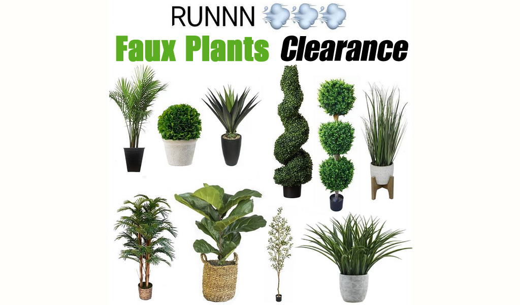 Faux Plants for Less on Wayfair - Big Clearance