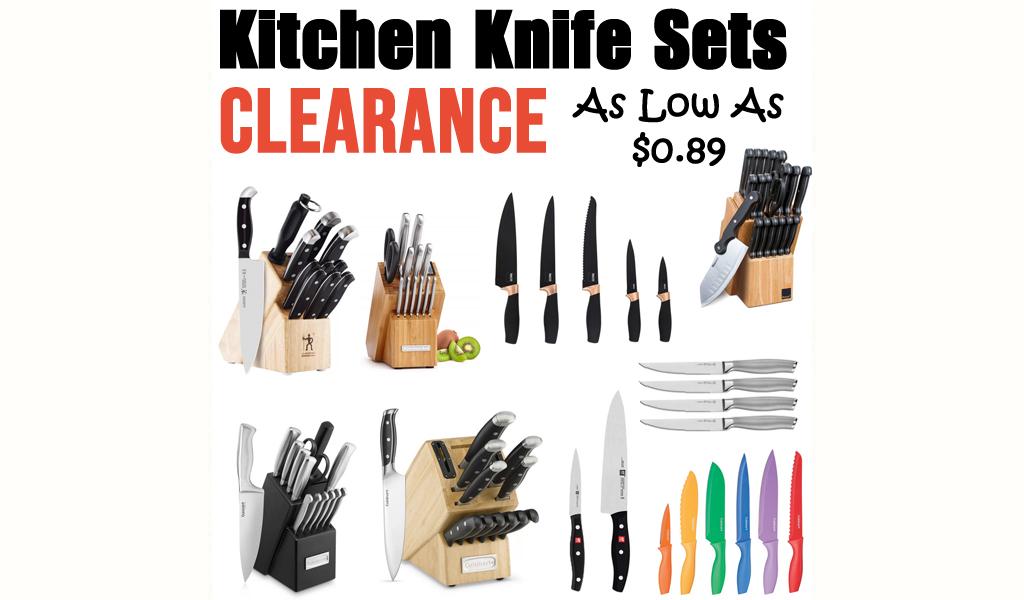 Kitchen Knife Sets for Less on Wayfair - Big Sale