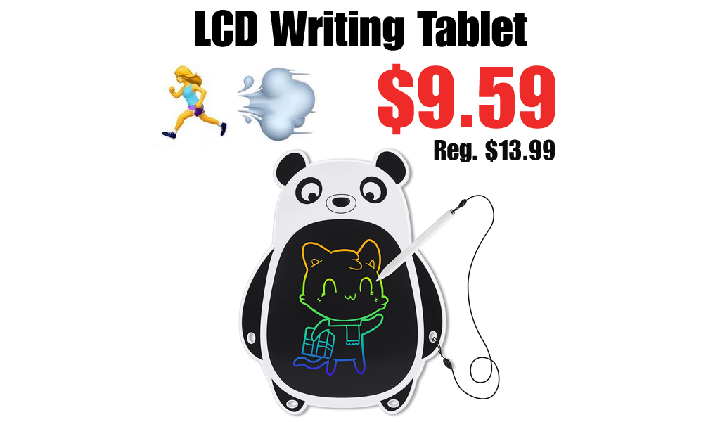 LCD Writing Tablet Only $9.59 on Amazon (Regularly $13.99)