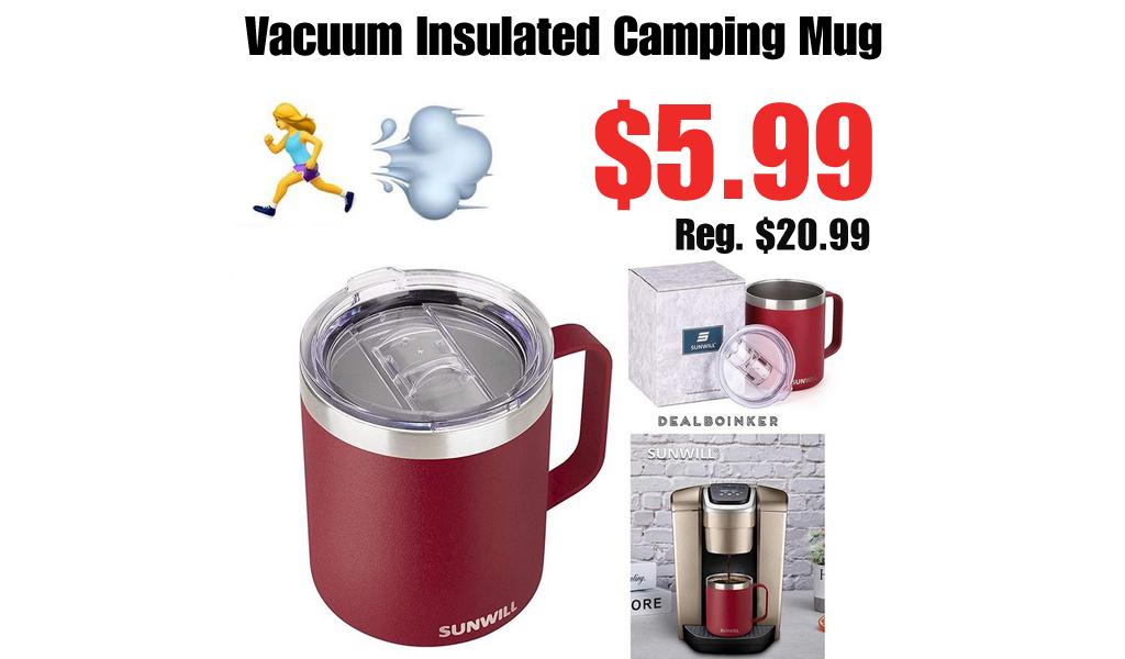 Vacuum Insulated Camping Mug Only $5.99 Shipped on Amazon (Regularly $20.99)