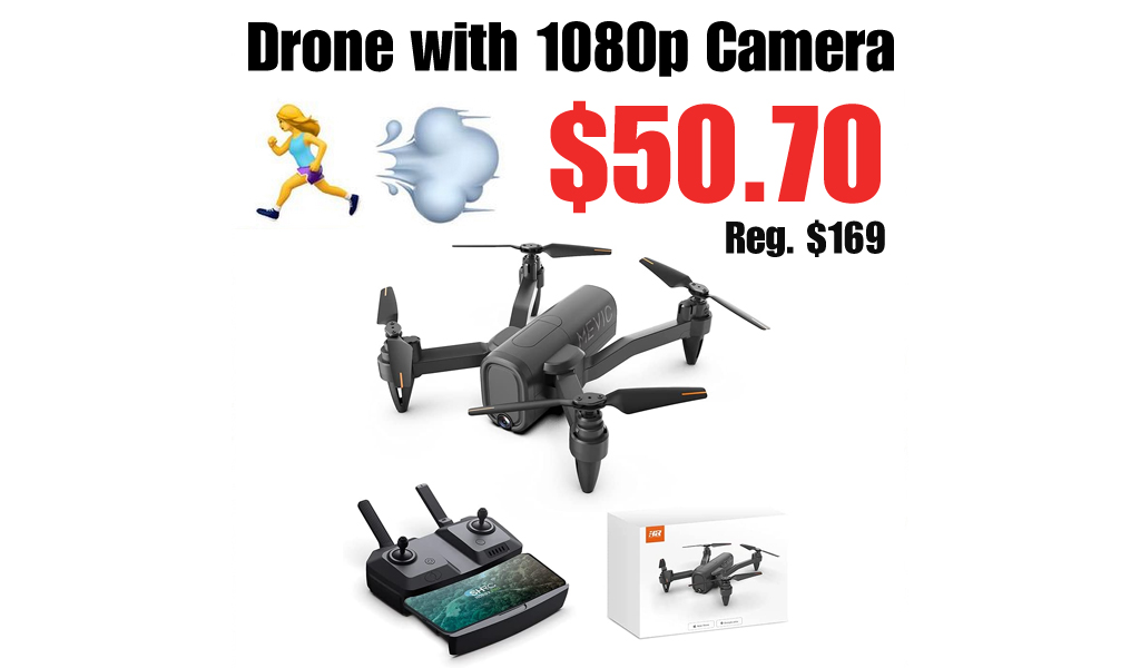 Drone with 1080p Camera Only $50.70 Shipped on Amazon (Regularly $169)