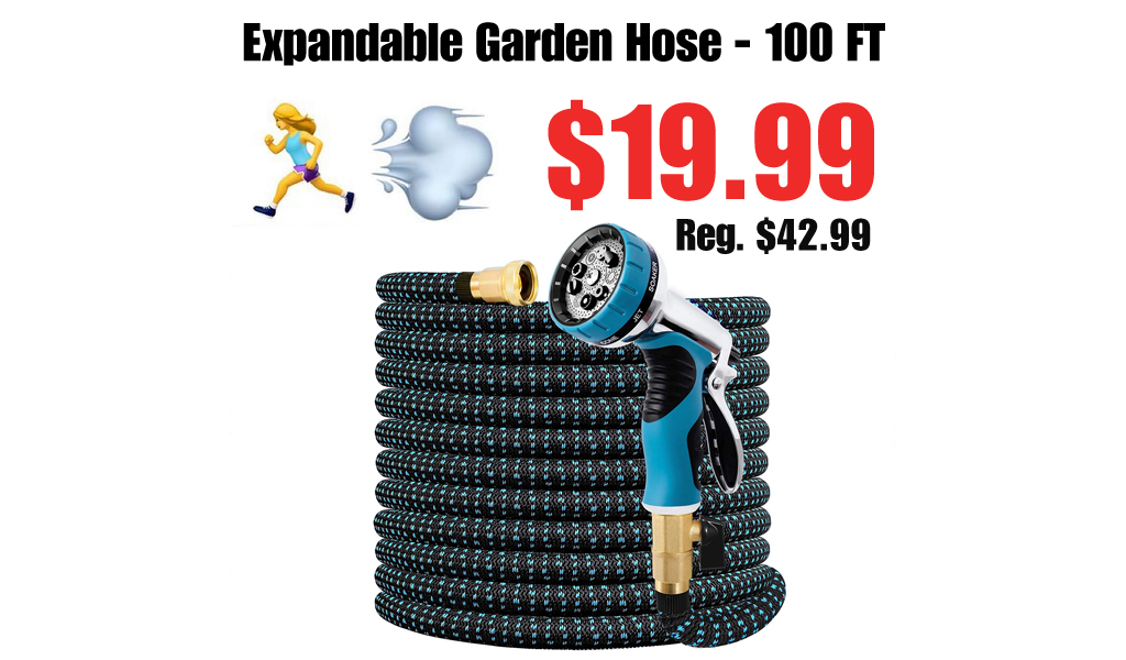 Expandable Garden Hose - 100 FT Only $19.99 Shipped on Amazon (Regularly $42.99)