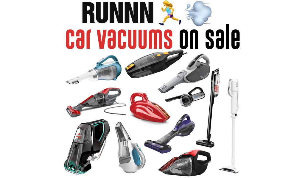 Handheld & Car Vacuums for Less on Wayfair - Big Sale