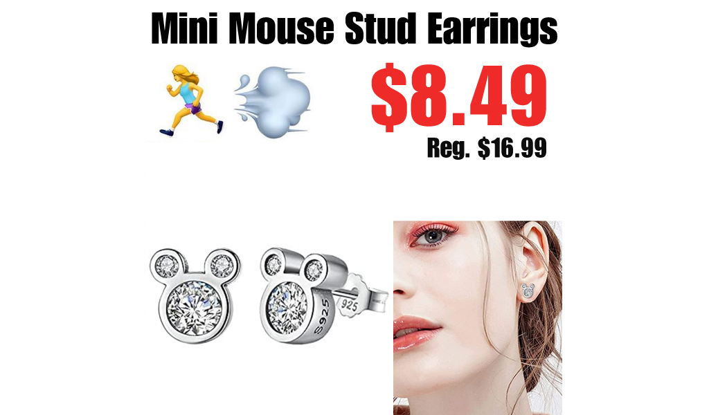 Mini Mouse Stud Earrings Only $8.49 Shipped on Amazon (Regularly $16.99)