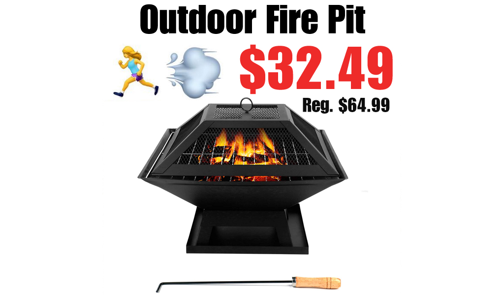 Outdoor Fire Pit Only $32.49 Shipped on Amazon (Regularly $64.99)
