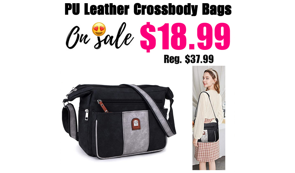 PU Leather Crossbody Bags Only $18.99 Shipped on Amazon (Regularly $37.99)