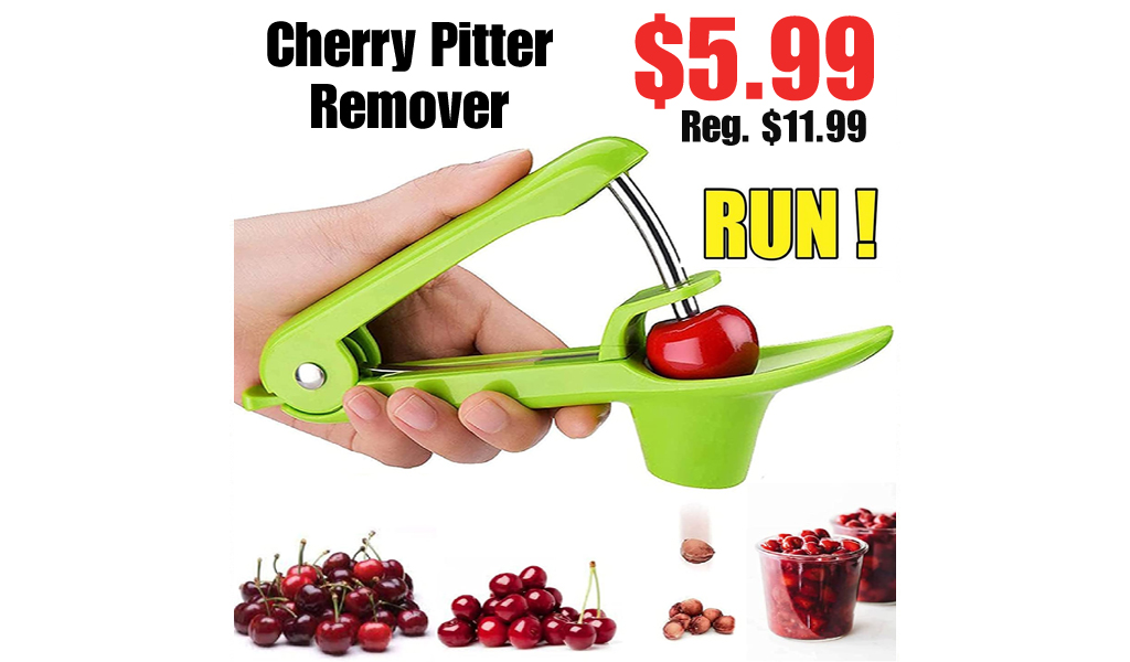 Cherry Pitter Remover Only $5.99 Shipped on Amazon (Regularly $11.99)