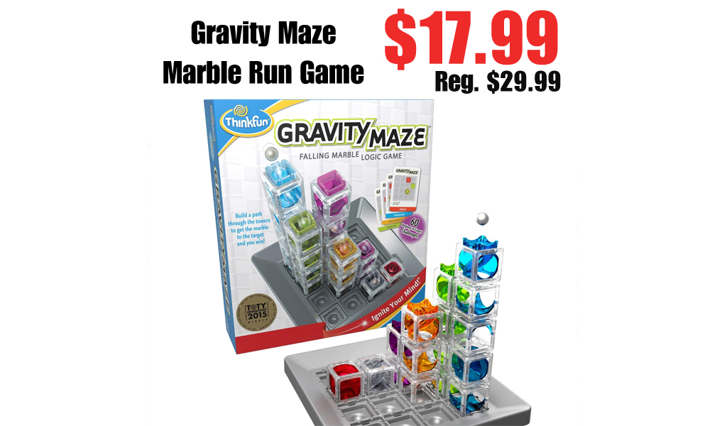 Gravity Maze Marble Run Game Only $17.99 on Amazon (Regularly $29.99)