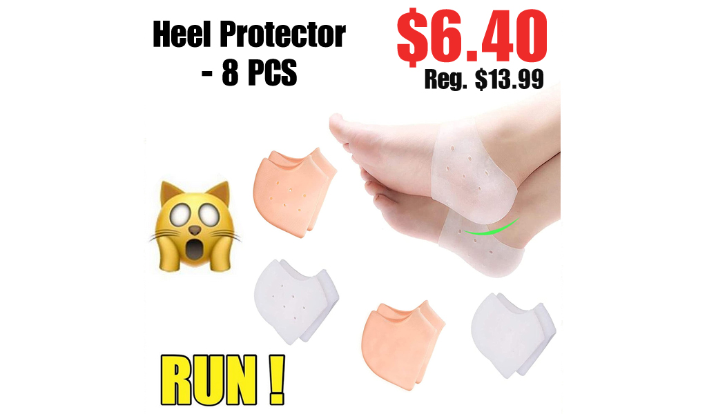 Heel Protector - 8 PCS Only $6.40 Shipped on Amazon (Regularly $13.99)