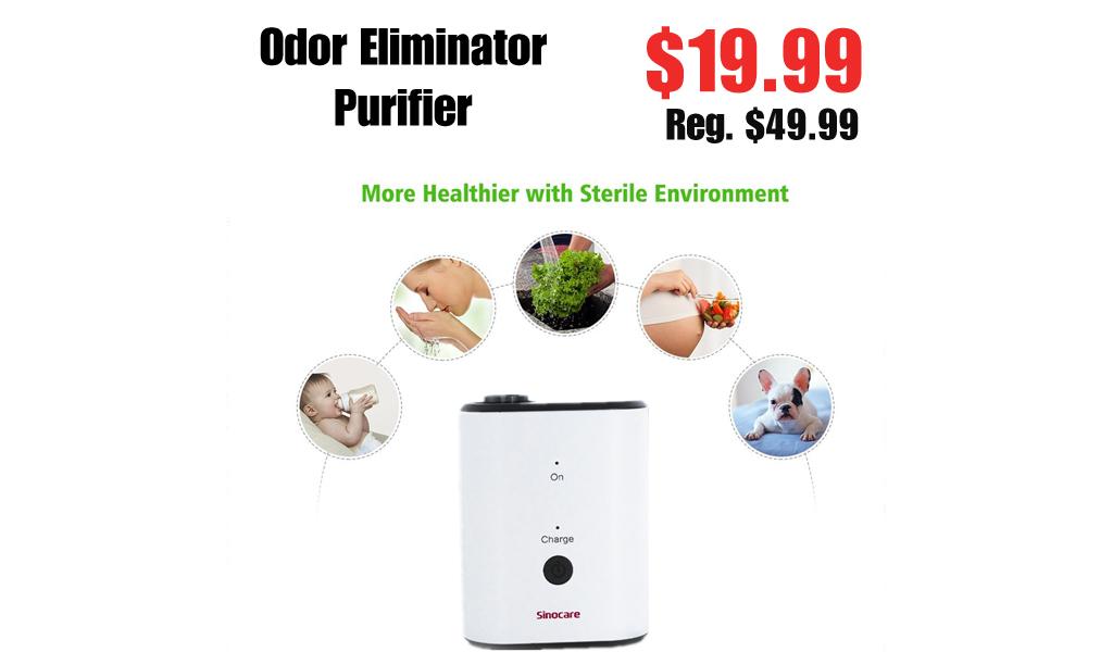 Odor Eliminator Purifier Only $19.99 on Ebay.com (Regularly $49.99)