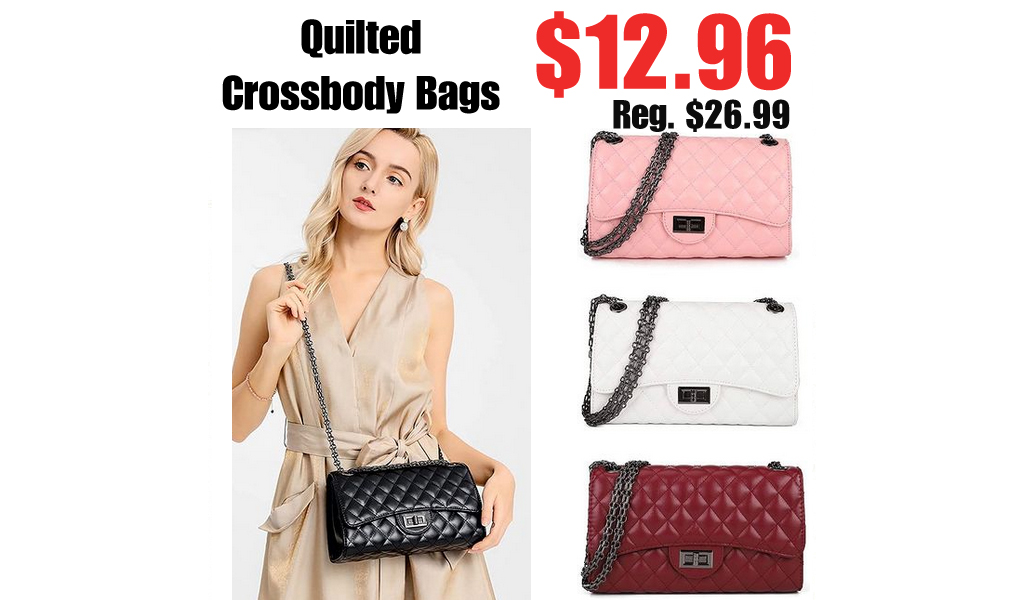Quilted Crossbody Bags Only $12.96 Shipped on Amazon (Regularly $26.99)