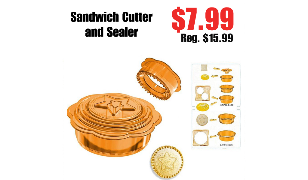 Sandwich Cutter and Sealer Only $7.99 Shipped on Amazon (Regularly $15.99)
