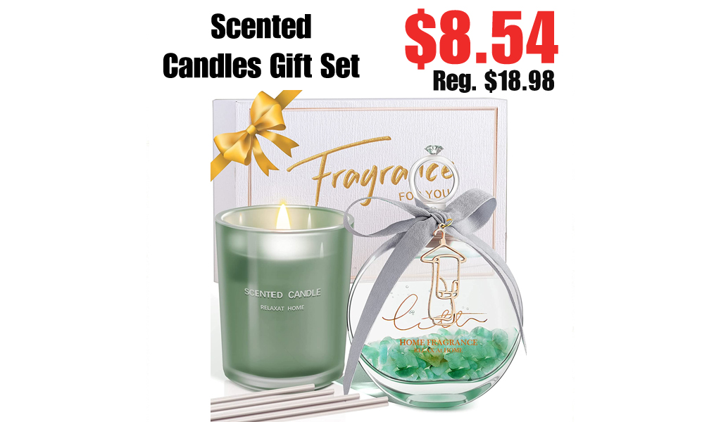 Scented Candles Gift Set Only $8.54 Shipped on Amazon (Regularly $18.98)