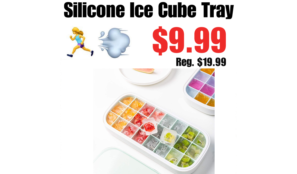 Silicone Ice Cube Tray Only $9.99 Shipped on Amazon (Regularly $19.99)