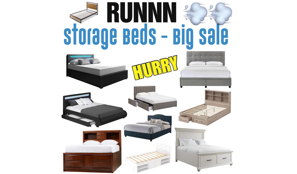 Storage Beds for Less on Wayfair - Big Sale