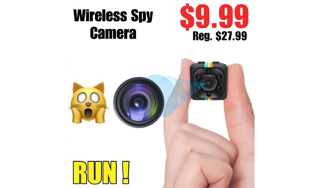 Wireless Spy Camera Only $9.99 Shipped on Amazon (Regularly $27.99)