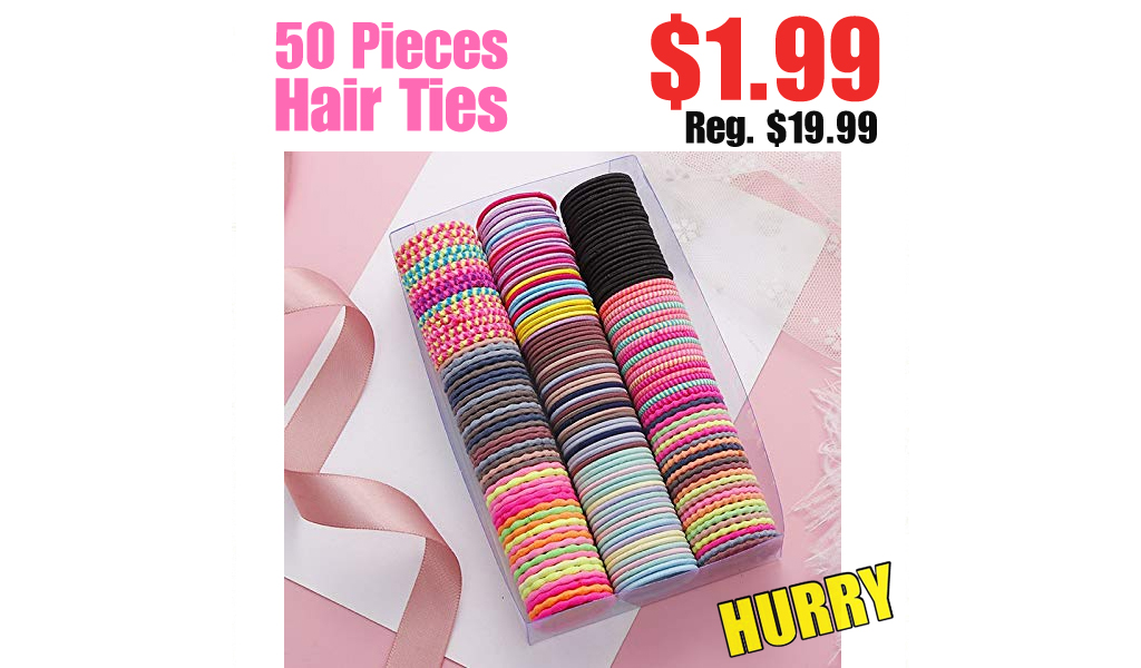 50 Pieces Hair Ties Only $1.99 Shipped on Amazon (Regularly $19.99)