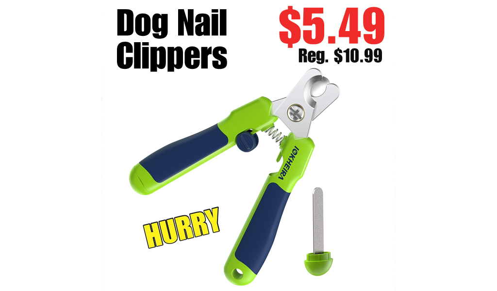 Dog Nail Clippers Only $5.49 Shipped on Amazon (Regularly $10.99)
