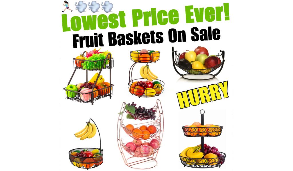Fruit Baskets for Less on Wayfair - Big Sale
