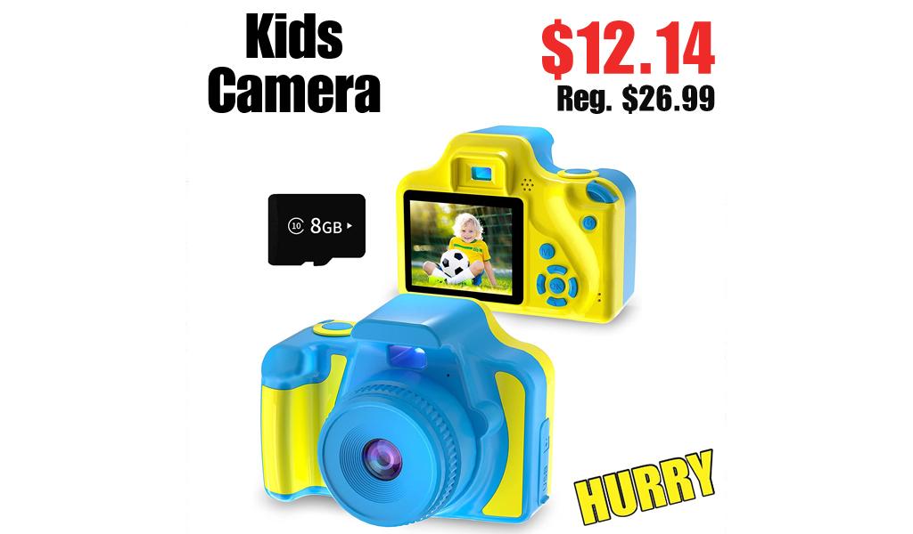 Kids Camera Only $12.14 Shipped on Amazon (Regularly $26.99)