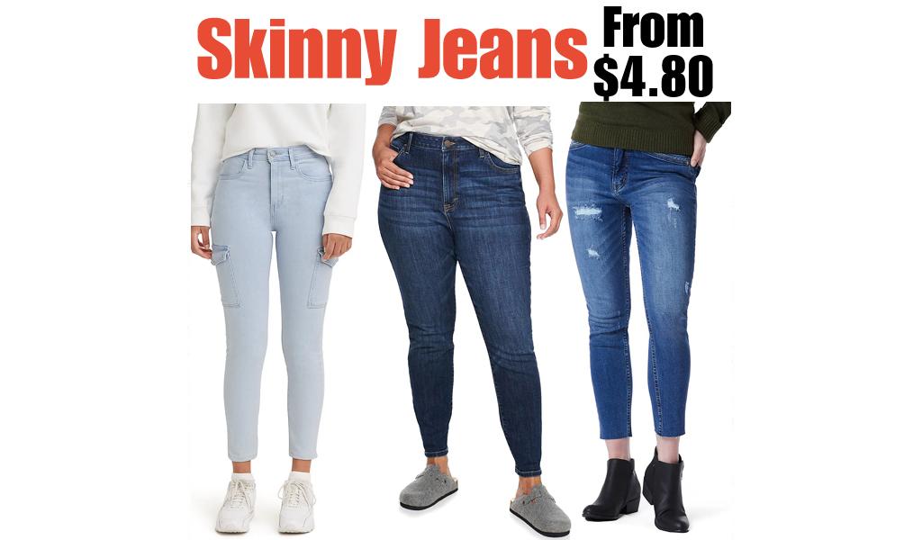Skinny Jeans from $4.80 on Kohls.com