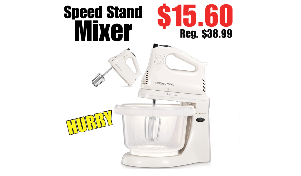 Speed Stand Mixer Only $15.60 Shipped on Amazon (Regularly $38.99)