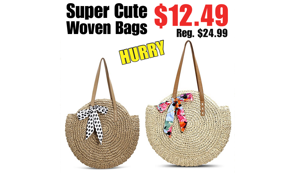 Super Cute Woven Bags Only $12.49 Shipped on Amazon (Regularly $24.99)