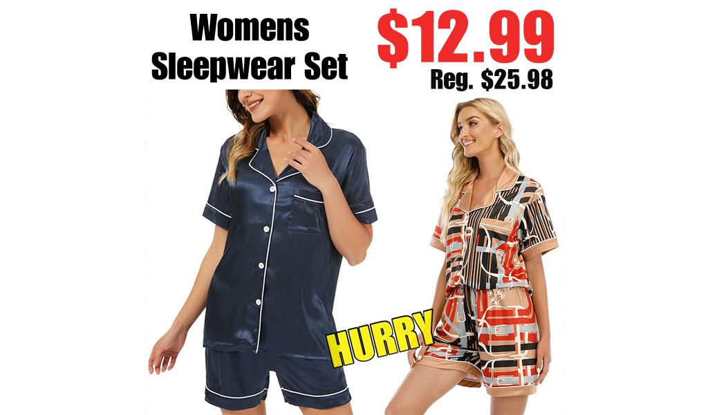 Womens Sleepwear Set Only $12.99 Shipped on Amazon (Regularly $25.98)