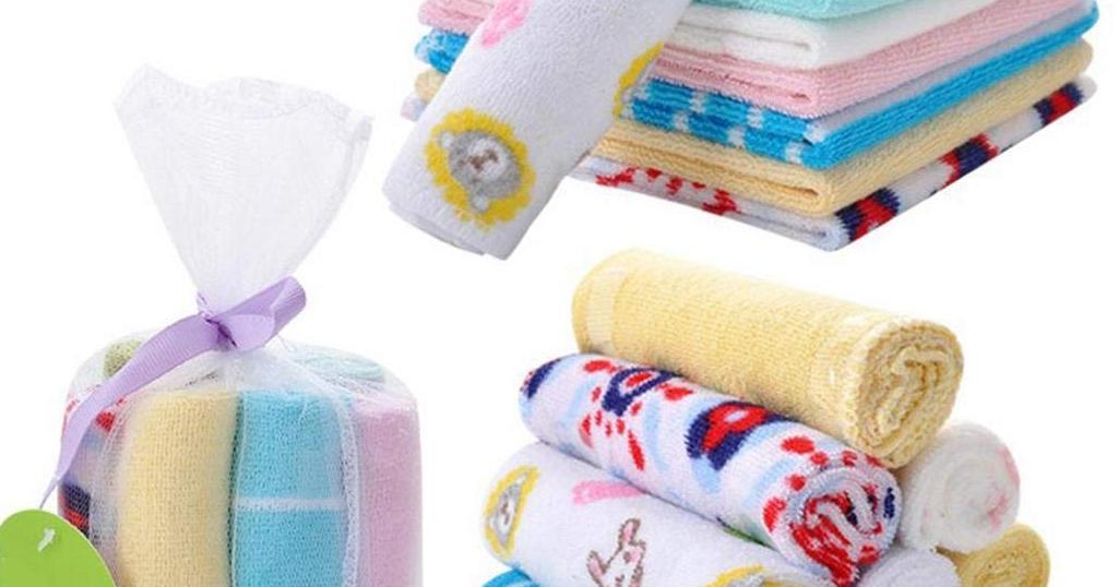 8PCS Mini Bath Towels Only $6.59 Shipped on Amazon (Regularly $21.99)