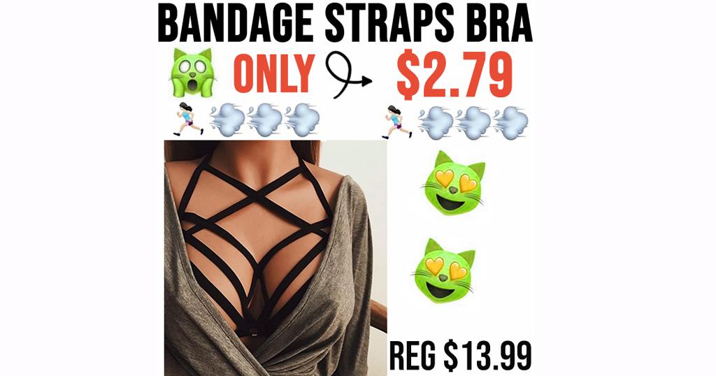 Bandage Straps Bra Only $2.79 Shipped on Amazon (Regularly $13.99)