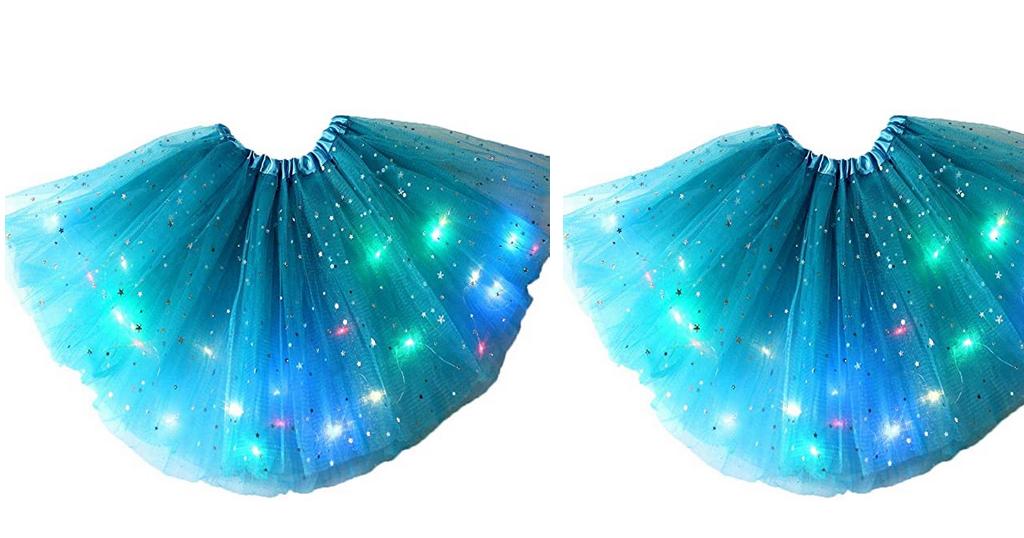 Girls Light-Emitting LED Festival Party Skirt Only $7.89 Shipped on Amazon (Regularly $39.45)