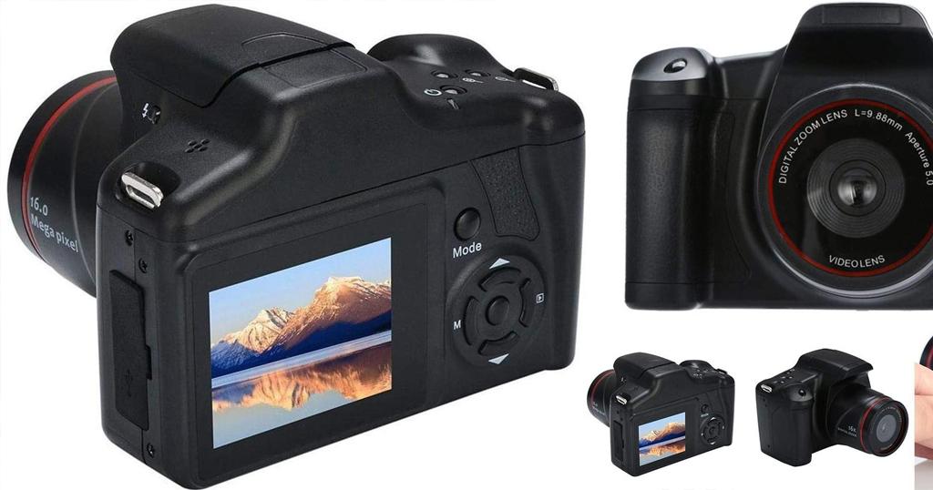 HD SLR Digital Camera 16X Zoom Only $37.94 Shipped on Amazon (Regularly $189.99)
