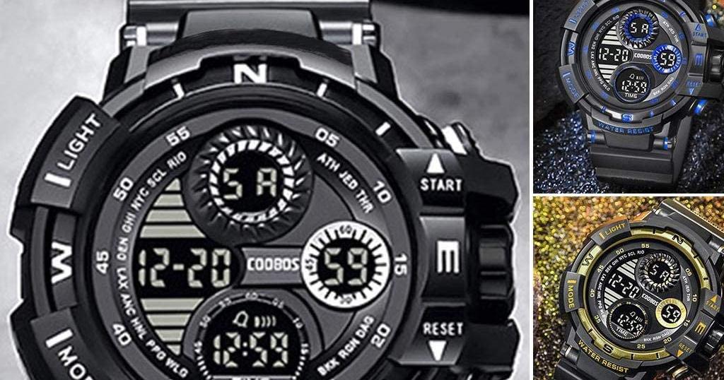 Waterproof Sports Electronic Watch Only $6.99 Shipped on Amazon (Regularly $34.99)