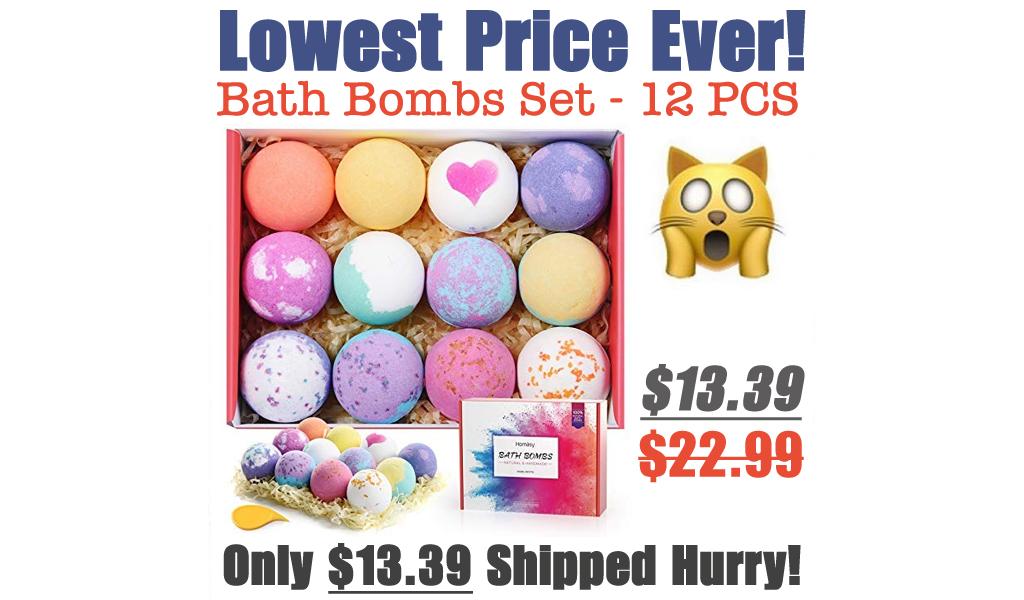 Bath Bombs Set - 12 PCS Just $13.39 Shipped on Amazon (Regularly $22.99)
