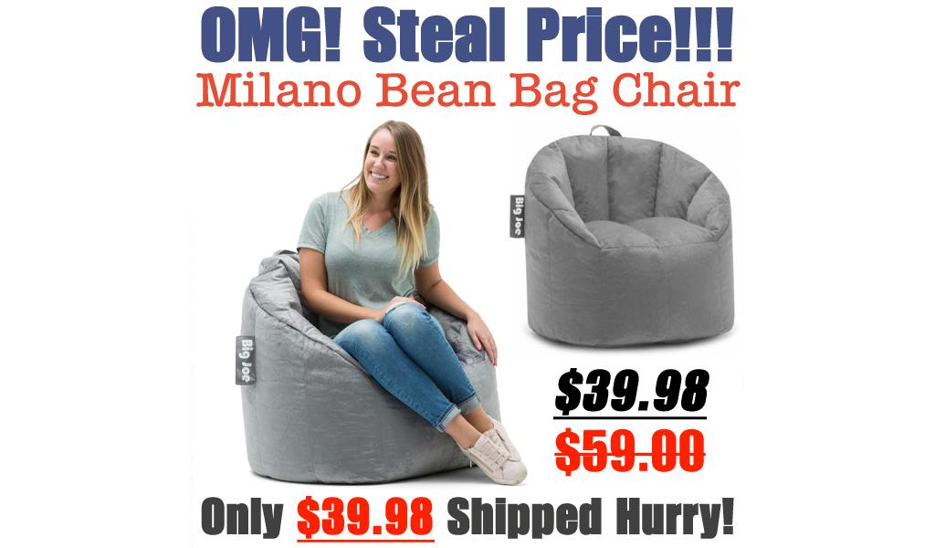 Big Joe Milano Bean Bag Chair Only $39.98 Shipped on Walmart.com (Regularly $59)