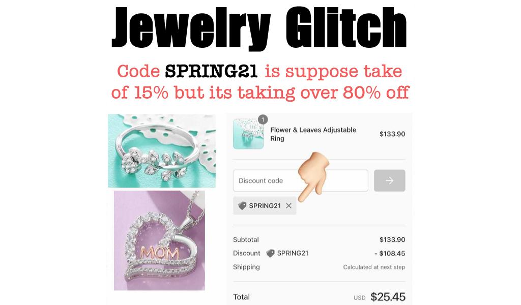 Jewelry Glitch