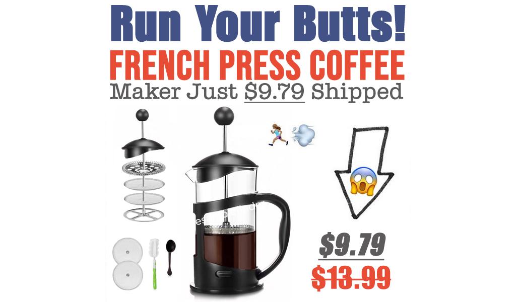 French Press Coffee Maker Just $9.79 Shipped on Amazon (Regularly $13.99)