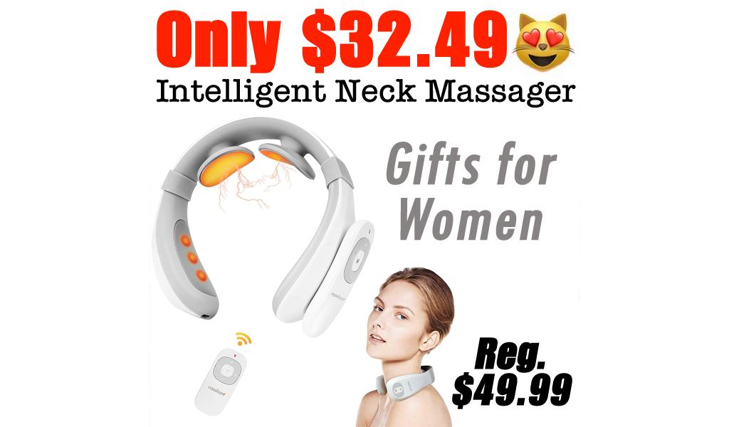 Intelligent Neck Massager Only $32.49 Shipped on Amazon (Regularly $49.99)