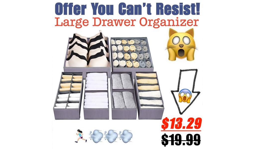 Large Drawer Organizer Only $13.29 Shipped on Amazon (Regularly $19.99)