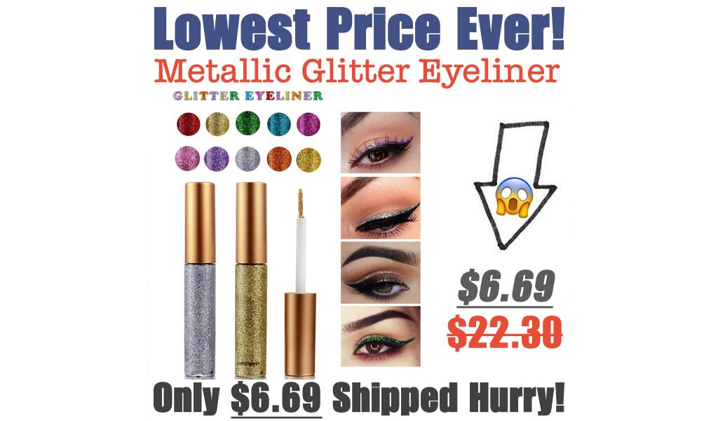 Metallic Glitter Eyeliner Only $6.69 Shipped on Amazon (Regularly $22.30)