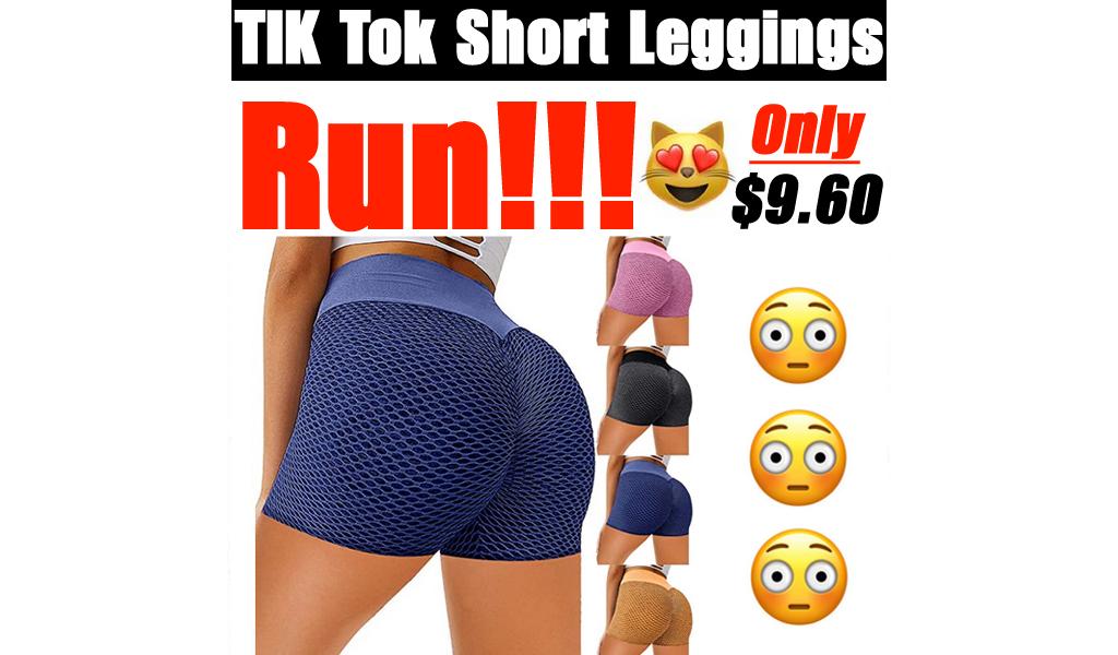 TIK Tok Short Leggings Only $9.60 Shipped on Amazon (Regularly $40.99)