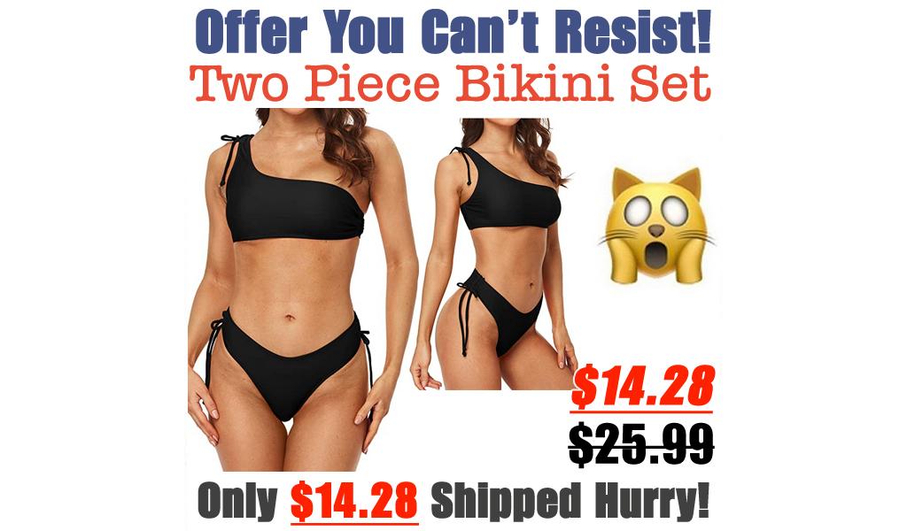 Two Piece Bikini Set Only $14.28 Shipped on Amazon (Regularly $25.99)