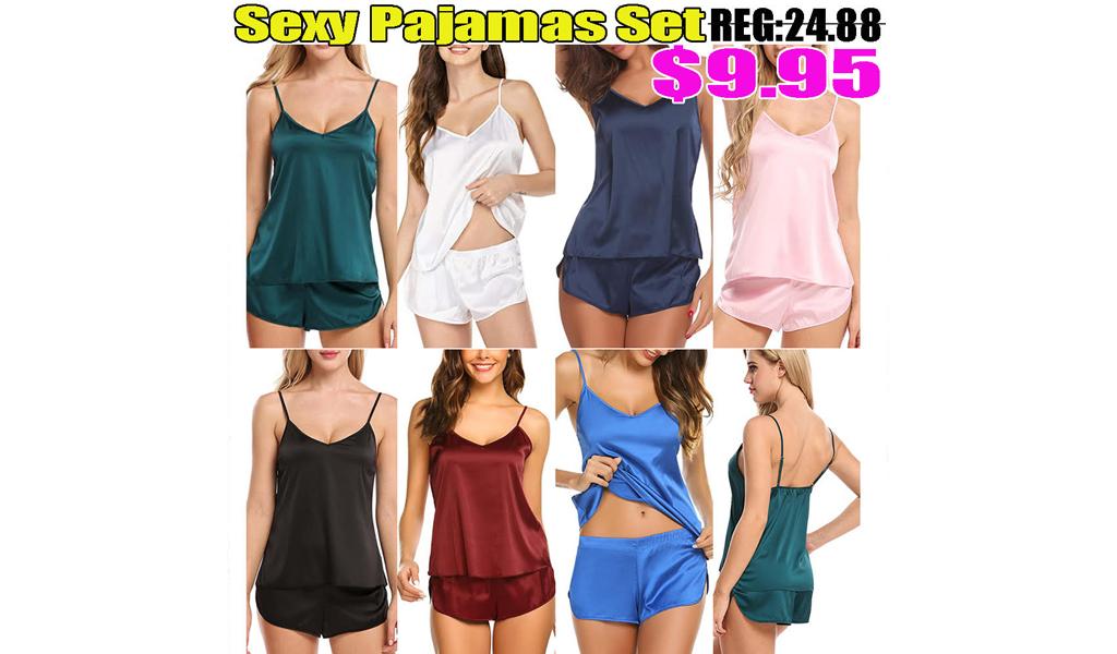 Women Sexy Pajamas Set +Free Shipping!