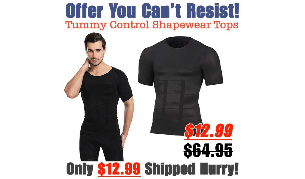 Tummy Control Shapewear Tops Only $12.99 Shipped on Amazon (Regularly $64.95)