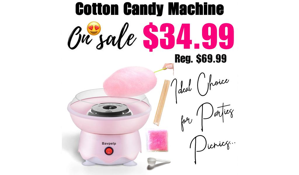 Cotton Candy Machine Only $34.99 Shipped on Amazon (Regularly $69.99)