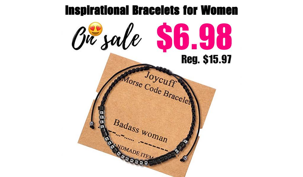 Inspirational Bracelets for Women Only $6 .98 Shipped on Amazon (Regularly $15.97)