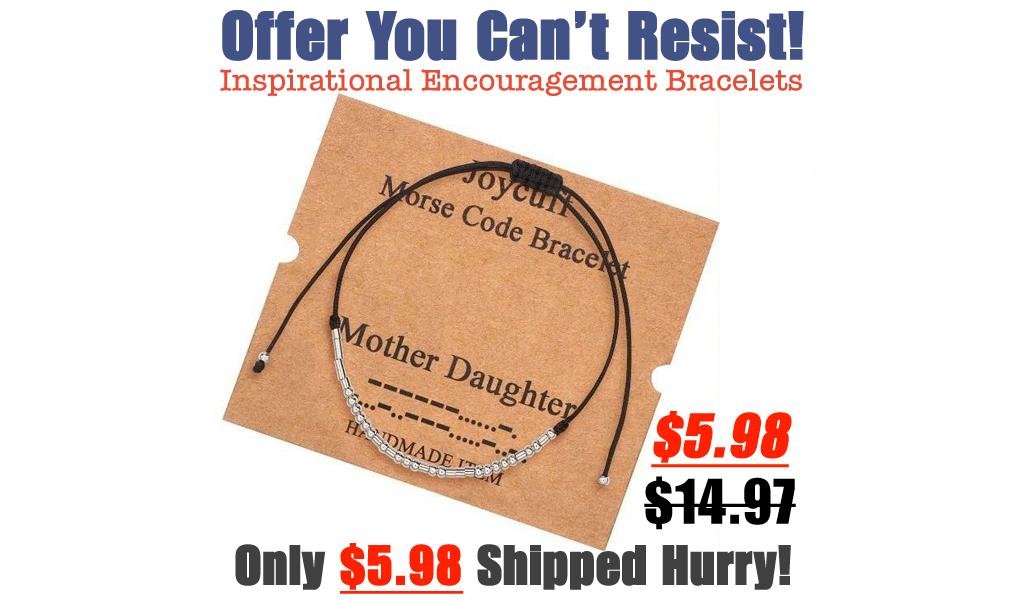 Inspirational Encouragement Bracelets Only $5.98 Shipped on Amazon (Regularly $14.97)