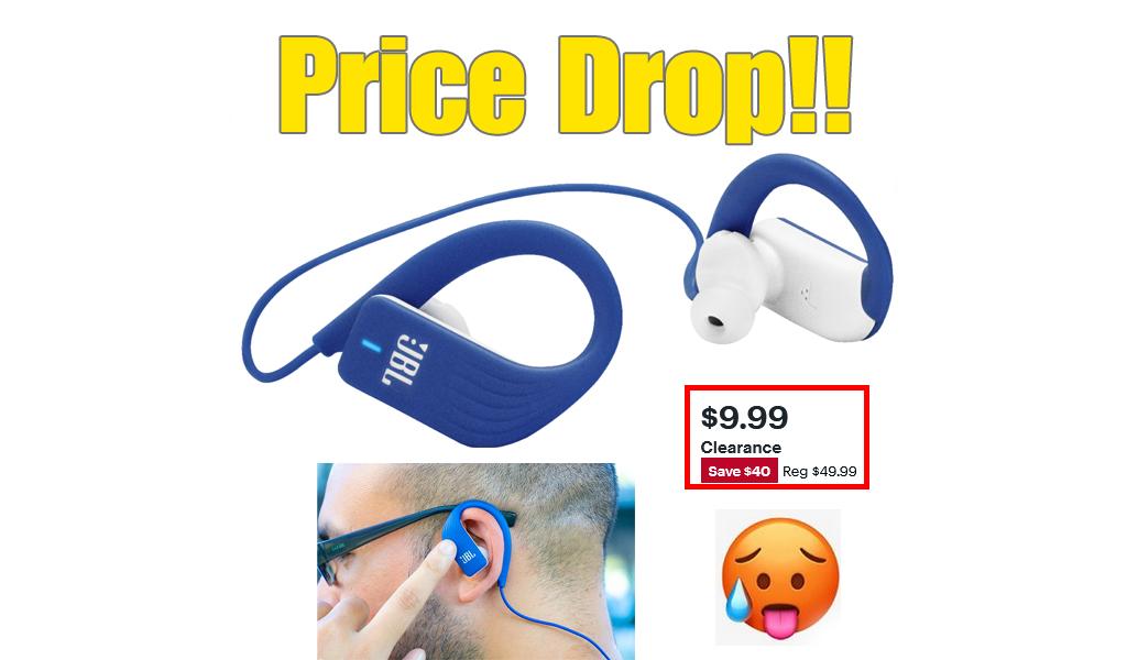 JBL Wireless In-Ear Headphones $9.99 (Reg $50)